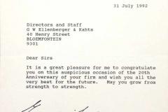 EK Letter 3