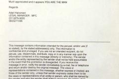 EK Letter 5